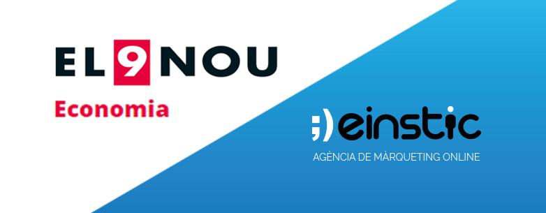 Marc Moruno, CEO d'Einstic, assessora als torners de Sant Pere de Torelló sobre màrqueting digital (Notícia El 9 Nou)